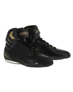 (CLEARANCE) Alpinestars Stella Faster 2 Ride Ladies Shoes - Black/Gold