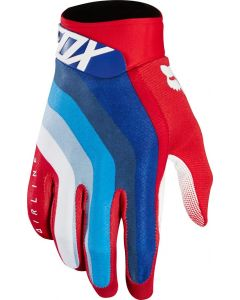 (CLEARANCE) FOX 2018 AIRLINE DRAFTR GLOVES - RED