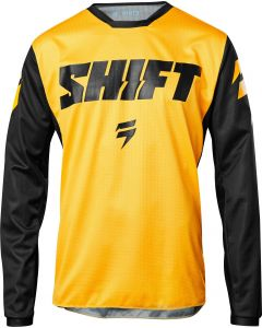 (CLEARANCE) 2018 SHIFT WHIT3 LABEL NINETY SEVEN MX JERSEY - YELLOW