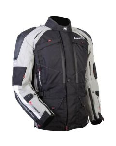 (CLEARANCE) MOTO DRY - ADVENT-TOUR JACKET BLK/GREY
