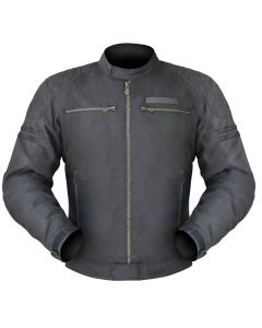 (CLEARANCE) (SPECIAL) DRIRIDER TROPHY TEXTILE JACKET - BLACK