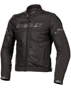 (CLEARANCE) DAINESE Motorcycle jacket - AIR-FRAME TEX  NERO/NERO
