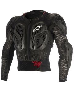ALPINESTAR Yth Bionic Action Jacket Black Red - Motorcycle Armour