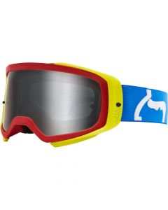 FOX 2020 AIRSPACE PRIX- SPARK -BLU/RD   - Motorcycle Goggles