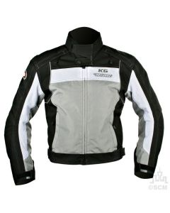 (EVERYDAY SPECIAL) - KG RADAR SUMMER TEXTILE JACKET BLACK/GREY Clearance Special