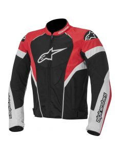 (CLEARANCE) Alpinestars Stella GP Plus R Womens Leather Jacket Black/White/Red (RO)