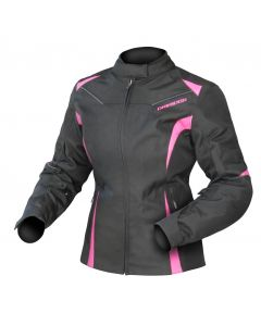 (CLEARANCE) DRIRIDER JEWEL 2 WOMENS WATERPROOF TEXTILE JACKET - PINK (RO)