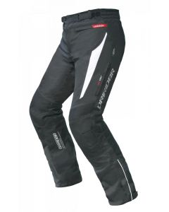(CLEARANCE) DRIRIDER GS SPEED 2 LADIES TEXTILE PANTS - BLACK/WHITE