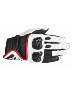 (CLEARANCE) ALPINESTARS Celer GLOVE - WHITE/BLACK/RED