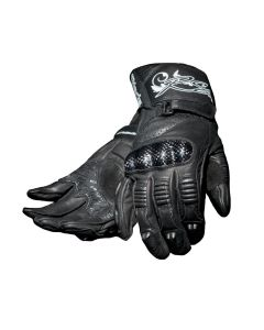 (CLEARANCE) RST BLADE LADIES LEATHER GLOVES - Black