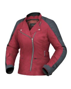 (CLEARANCE) Dririder Cruise Women's Textile Jacket - Cherry