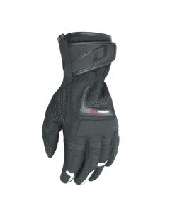 DRIRIDER VORTEX ADVENTURE MENS TEXTILE GLOVES - BLACK