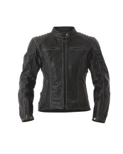 (CLEARANCE) RST Roadster Classic Women's Leather Jacket - Black