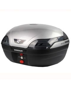 COOCASE S48 ASTRA LUXURY TOPBOX 48L - SILVER