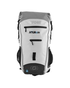 OXFORD AQUA B-25 BACKPACK - WHITE/GREY