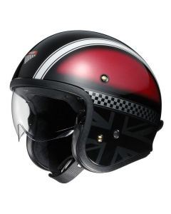(CLEARANCE) Shoei J.O Hawker TC-1 Helmet - Red/Black