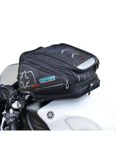 (CLEARANCE) OXFORD X30 QUICK RELEASE TANK BAG - BLACK