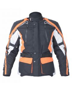 (CLEARANCE) RST Rallye WP Black/Flo Red/Silver Jacket 2017