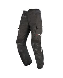 Alpinestars Andes V2 Black Textile Waterproof Pants - Black
