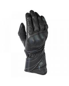 (CLEARANCE) Ixon RS Drop Ladies Leather Gloves - Black