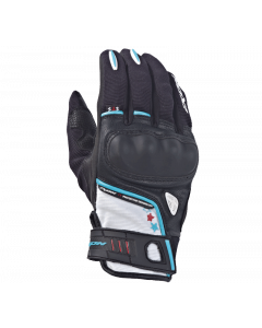 (CLEARANCE) Ixon RS Grip Ladies Gloves - Black/White