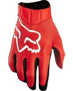 (CLEARANCE) FOX 2018 AIRLINE RACE GLOVES - RED