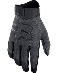 (CLEARANCE) FOX 2018 AIRLINE RACE GLOVES - BLACK/CHARCOAL