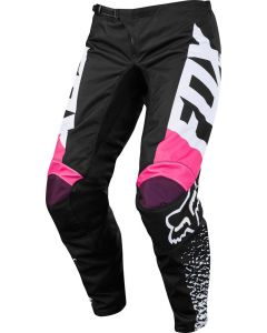 (CLEARANCE) FOX 2018 KIDS 180 PANTS - BLACK/PINK