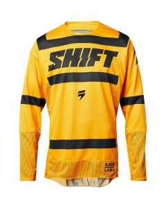 (CLEARANCE) 2018 SHIFT 3LACK LABEL STRIKE MX JERSEY - YELLOW
