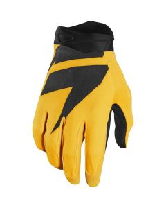 (CLEARANCE) 2018 SHIFT 3LACK LABEL MX AIR GLOVE - YELLOW