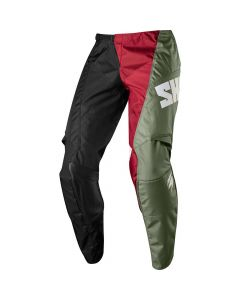 (CLEARANCE) 2018 SHIFT WHIT3 TARMAC MX PANTS - BLACK