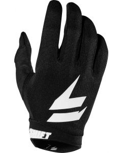 (CLEARANCE) 2018 YOUTH SHIFT WHIT3 LABEL NINETY SEVEN MX GLOVE - BLACK
