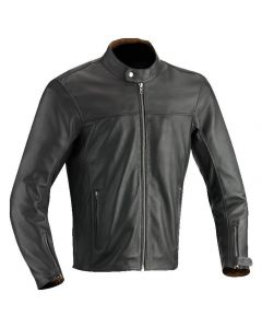 (CLEARANCE) 2018 IXON STROKER PERFORATED LEATHER JACKET BROWN