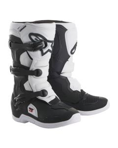 ALPINESTARS TECH 3S V2 YOUTH MX BOOTS - BLACK/WHITE