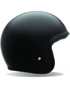 (CLEARANCE) BELL CUSTOM 500 ECE SOLID NO STUD - MATTE BLACK