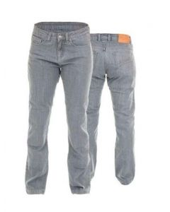 RST LADIES STRAIGHT LEG JEANS - GREY