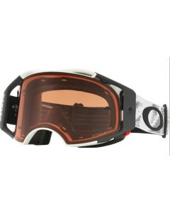 (CLEARANCE) Oakley Airbrake Matte White Speed Prizm Goggles