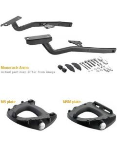 GIVI 1132FZ Topcase Monorack Sidearms to suit Honda VFR 800 - '14-'16