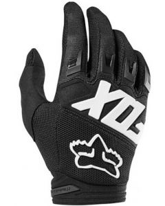 FOX 2019 YOUTH DIRTPAW RACE GLOVES - BLACK
