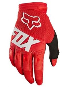 FOX 2019 YOUTH DIRTPAW RACE GLOVES - RED