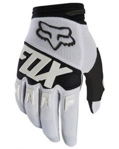FOX 2019 YOUTH DIRTPAW RACE GLOVES - WHITE