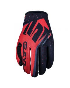 FIVE MXF-4 Motorcycle Glove - Red / Black