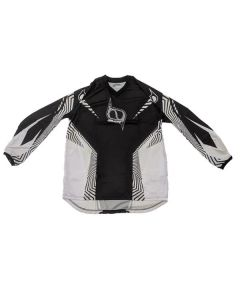 (CLEARANCE MSR) - MSR M9 Axis Men's MX Jersey - Black Wired