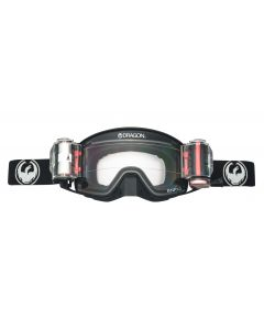 DRAGON NFX2 COAL RRS INJECTED CLEAR - Motorcross Goggle