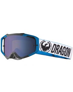 DRAGON MXV MAX FACTORY / LL FLASH BLUE+CLEAR - Motorcross Goggle