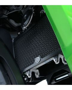 R&G RADIATOR GUARD  KAW Versys X-250/300 (COLOUR:BLACK)