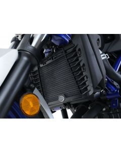 R&G RADIATOR GUARD - YAM YZF-R25 / YZF-R3 / MT-25 / MT-03 (COLOUR:DARK BLUE)