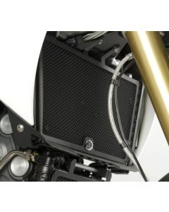 R&G RADIATOR GUARD APR DORSODURO1200 (COLOUR:BLACK)