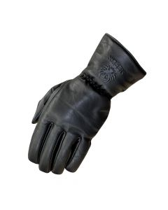 MERLIN Motorcycle Gloves Stone Leather WP Blk
