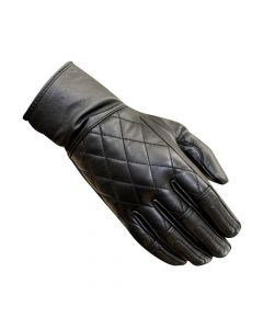 MERLIN Motorcycle Gloves Salt Leather Lady Blk